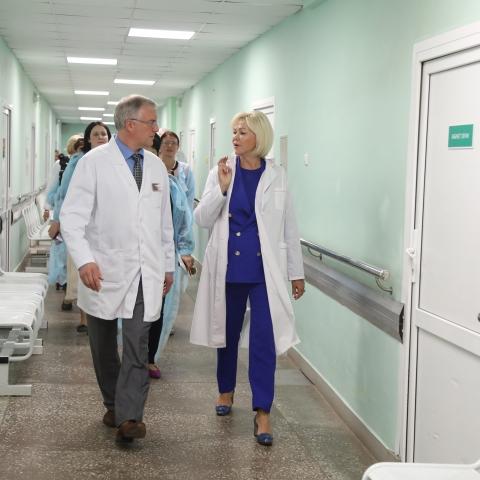 Улучшение эффективности работы нашей клинической больницы