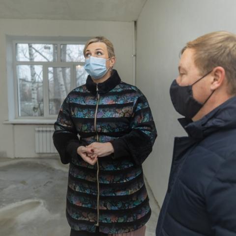 В больнице Ликино-Дулева завершается ремонт процедурных кабинетов