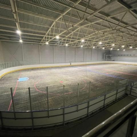 Ход работ по реконструкции муниципальной Ледовой арены Серпухова под постоянным контролем
