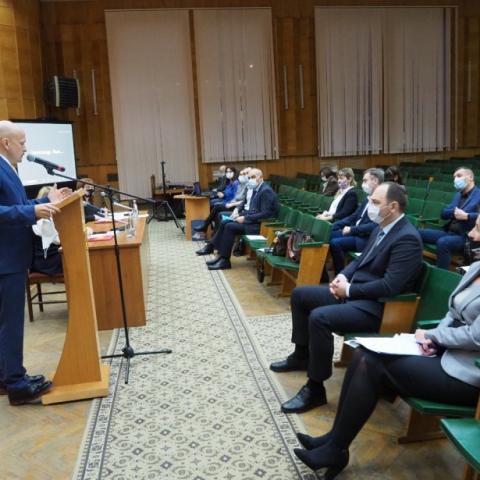 Совет по промышленности прошел в Серпухове