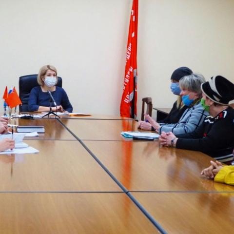 Глава г.о. Серпухов Юлия Купецкая провела очередной прием по личным вопросам