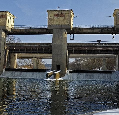 Городская плотина в Обнинске безопасна