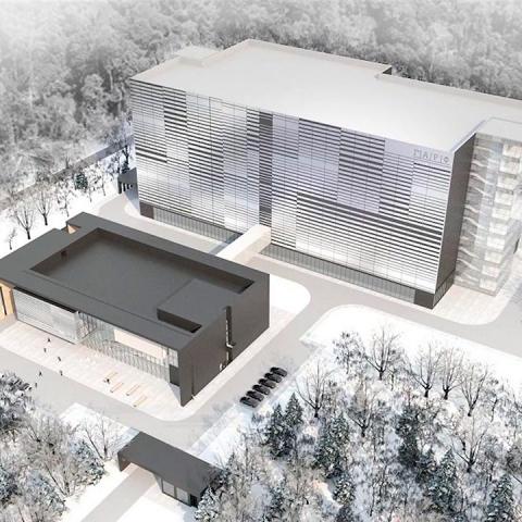 В Обнинске продолжается сооружение административного корпуса и архивохранилища