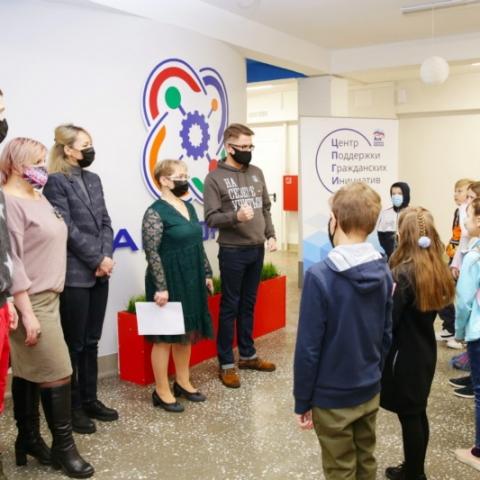 День открытых дверей прошел 14 января в детском технопарке «Кванториум»