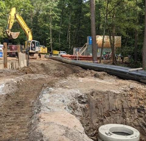 В Обнинске до конца текущего года планируют завершить строительство двух новых канализационно-насосных станций взамен изношенных, расположенных в 51 микрорайоне и в районе Репинского оврага.