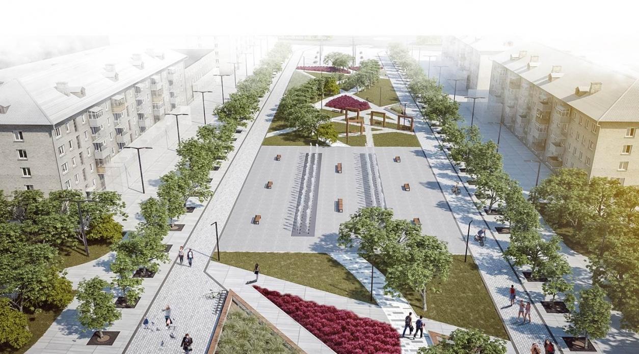 Городская администрация планирует масштабное благоустройство Обнинска