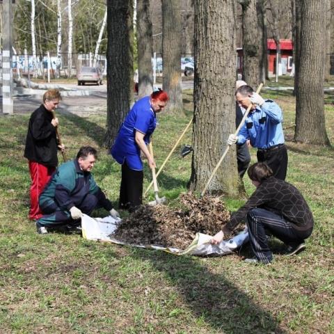 В Обнинске начинаются весенние субботники