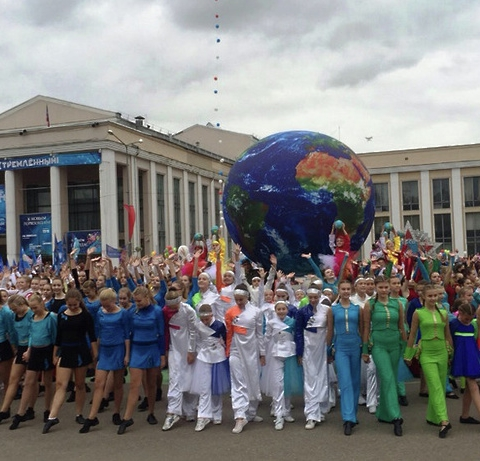 Летом в честь Дня города жители наукограда смогут принять участие в создании геоглифа