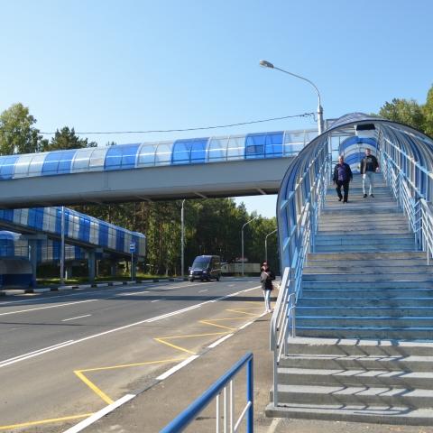 В Обнинске обсуждают, стоит ли в городе сделать надземные пешеходные переходы.
