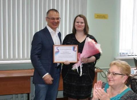 Александр Коган обсудил с педагогами лицея ситуацию в образовании.