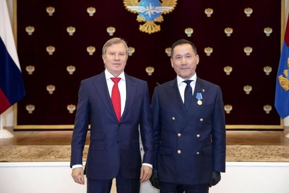 Владимир Алексеев награждён медалью