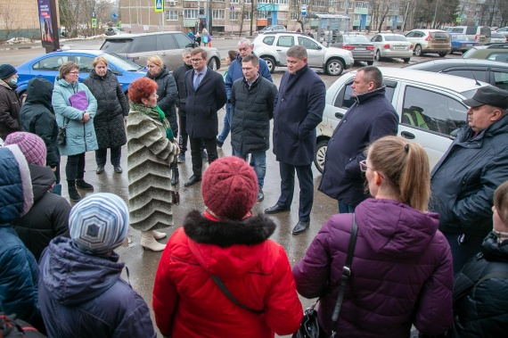Денис Лебедев встретился с жителями Озёр