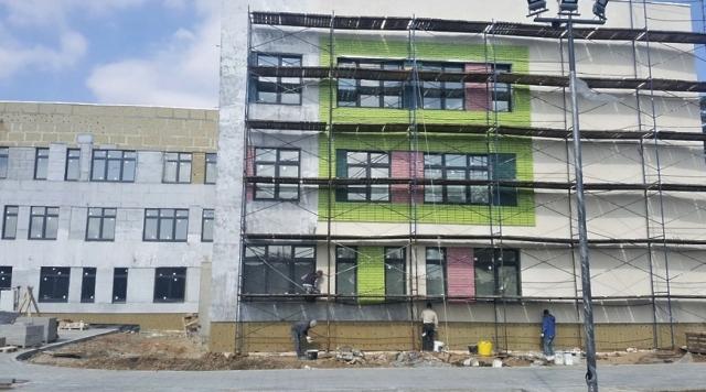 Строительство школы на 550 мест в Ликино‑Дулеве ведется в графике