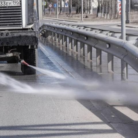 К 1 мая автомобильные дороги в Московской области приведут в порядок после зимы