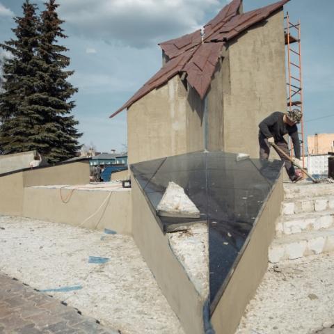 В Орехово-Зуевском округе ремонтируют памятники, посвященные Великой Отечественной войне