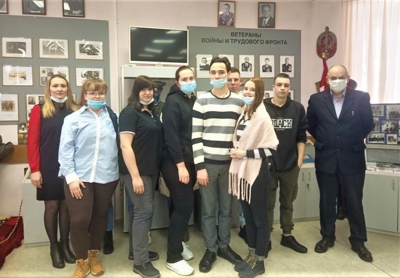 Студенты ПЭК узнали об истории полиции Орехово-Зуева