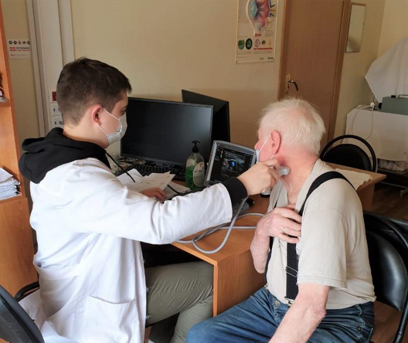 Более 30 пациентов обследовали специалисты Центра Бакулева во время выездного приема в Давыдове