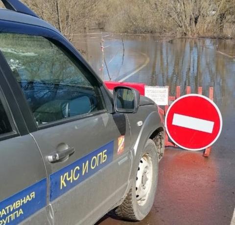 В Куровском и нескольких деревнях ликвидируют подтопления