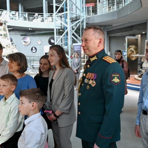 Калужская семья приняла участие во встрече с Владимиром Путиным