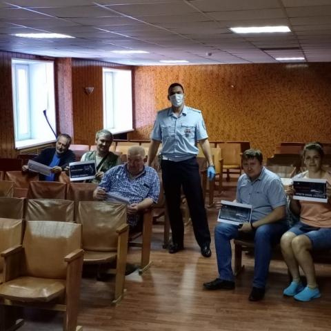 Сотрудники Госавтоинспекции пообщались с сотрудниками транспортных предприятий
