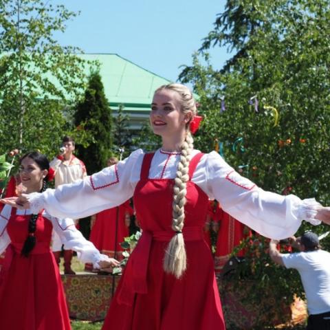 Фестиваль «Троицкий пирог» состоялся в День села Лужники