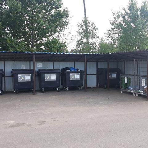 Почти 900 контейнерных площадок в Подмосковье подключат к видеонаблюдению