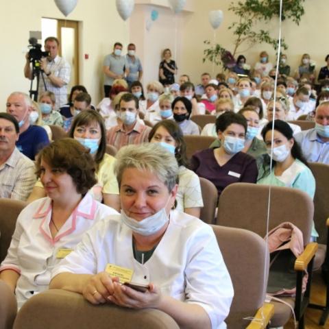 Ступинских медиков поздравили с профессиональным праздником