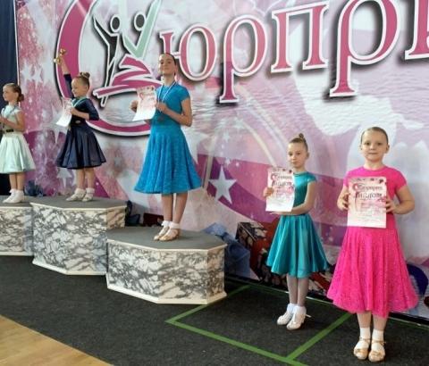 Озёрские танцоры приняли участие в двух турнирах
