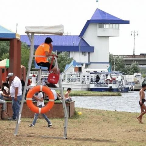 С 1 июня в Калужской области открыт купальный сезон
