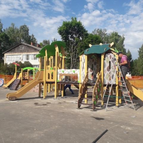 В селе Саввино откроют новую детскую площадку