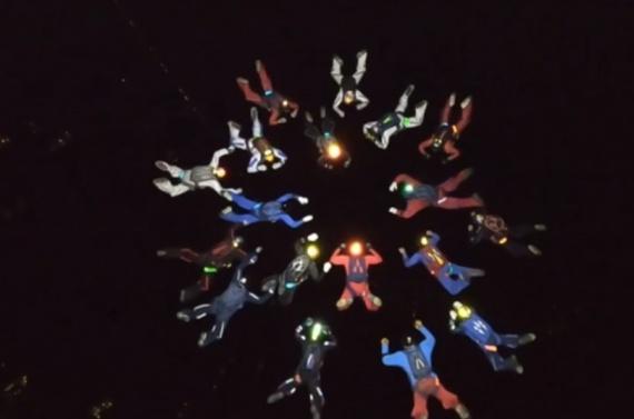 В ночном небе над Коломной установили два рекорда