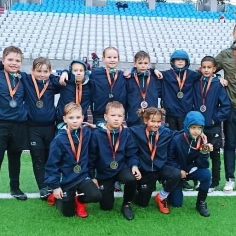 Ступинские регбисты привезли первые медали с турнира в Ногинске