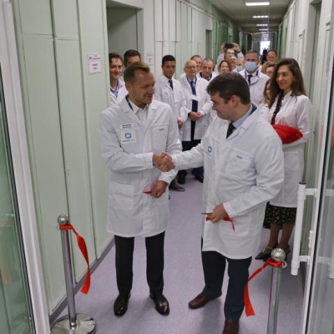 Центр ранней разработки вакцин и моноклональных антител открылся в Пущине