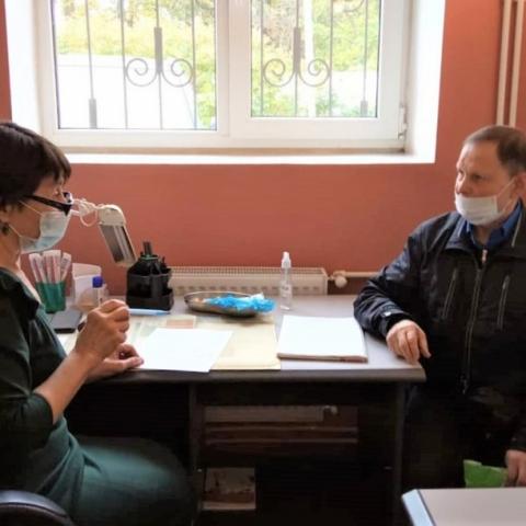 В Давыдовской больнице прошел прием жителей врачами Бакулевского центра